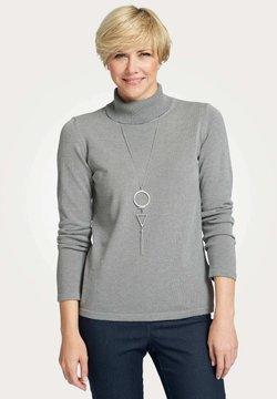 MONA - Strickpullover - grau
