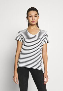 Superdry - ESSENTIAL TEE - T-Shirt print - off white