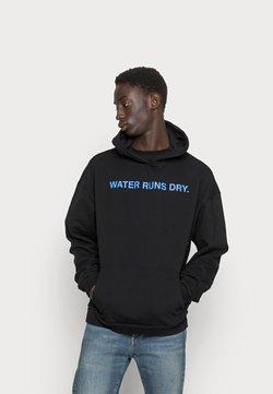 9N1M SENSE - WATER RUNS DRY HOODIE  - Bluza - black