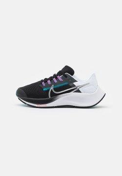 Nike Performance - AIR ZOOM PEGASUS 38 UNISEX - Löparskor för tävling - particle grey/white/midnight navy