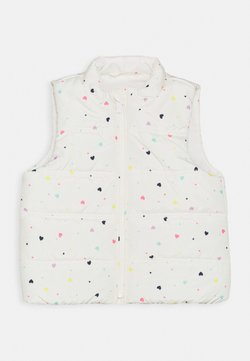 GAP - TODDLER GIRL PUFFER VEST - Smanicato - white
