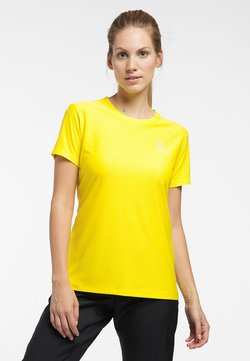 Haglöfs - L.I.M TECH TEE - T-Shirt print - signal yellow