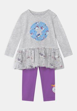 Converse - RUFFLE SET - Leggings - Hosen - birch heather