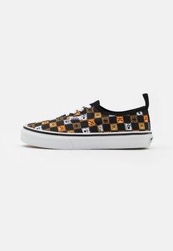 Vans - AUTHENTIC ELASTIC LACE UNISEX - Sneakers basse - black/true white