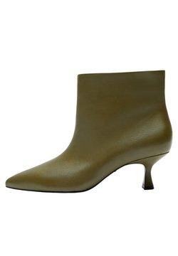 Violeta by Mango - BERTA - Ankle Boot - olivengrün