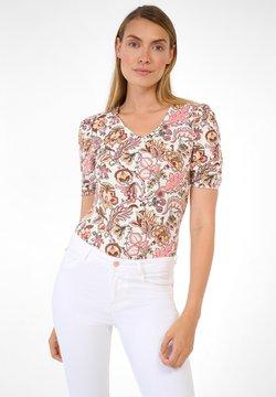 ORSAY - T-Shirt print - helles flamingo