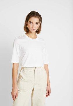 Lacoste - ROUND NECK CLASSIC TEE - T-Shirt basic - white