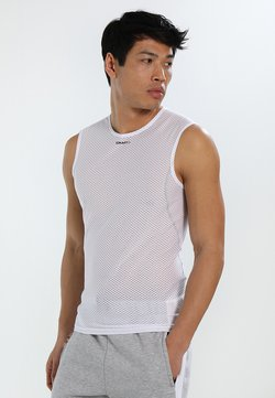 Craft - COOL SUPERLIGHT SLEVELESS - Top - white