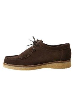 Mango - WALLABEE - Bootsschuh - marrón
