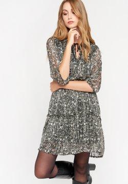 LolaLiza - MET BLOEMEN - Korte jurk - black beauty