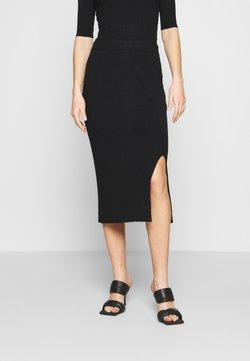 Monki - LOA SKIRT - Falda de tubo - black