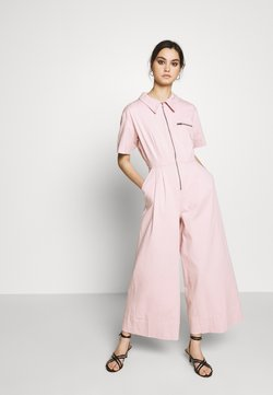 Who What Wear - THE BOILER SUIT - Combinaison - rose