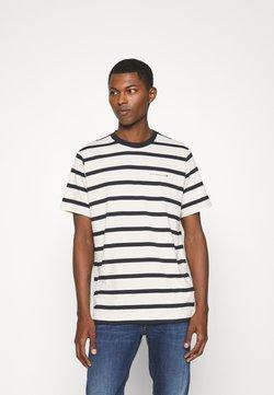 NN07 - ASPEN TEE - T-Shirt print - navy