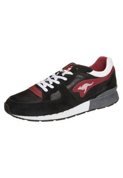 KangaROOS - COIL - Sneaker low - black/red