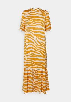 Saint Tropez - FABIANA DRESS - Vestido largo - fall leaf zebra