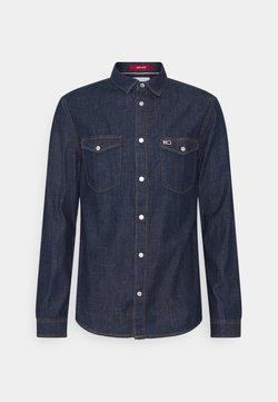 Tommy Jeans - WESTERN SHIRT - Camicia - dark indigo