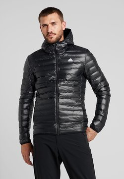 adidas Performance - VARILITE HOODED DOWN JACKET - Vinterjacka - black