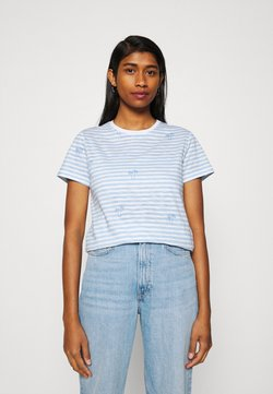 ONLY - ONLBONE LIFE TOP BOX - T-Shirt print - bright white