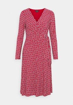 Lauren Ralph Lauren - PRINTED MATTE DRESS - Jersey dress - orient red
