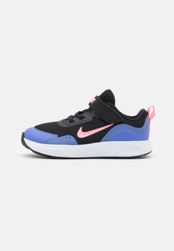 Nike Sportswear - WEARALLDAY UNISEX - Vauvan kengät - black/sunset pulse/sapphire