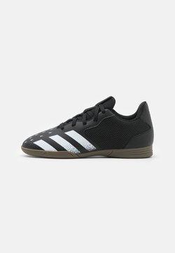 adidas Performance - PREDATOR FREAK 4 IN SALA UNISEX - Botas de fútbol sin tacos - core black/footwear white