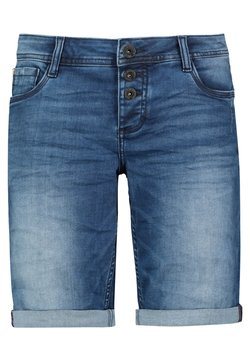 Sublevel - Jeans Shorts - dark blue