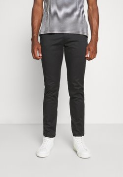 Selected Homme - SLHSLIM BUCKLEY FLEX PANTS - Kangashousut - black