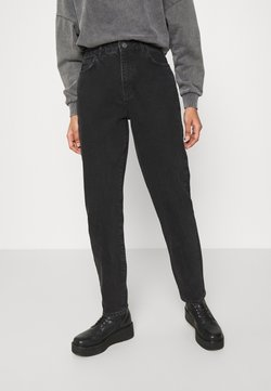 Noisy May - NMISABELANKL MOM  - Jeans Relaxed Fit - black