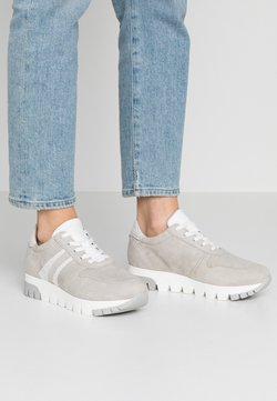 Tamaris - LACE-UP - Sneakers laag - light grey