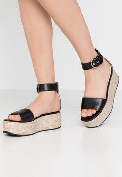 Vagabond - FELICIA - Korkeakorkoiset sandaalit - black