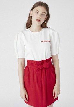 NAF NAF - T-shirt basic - ecru