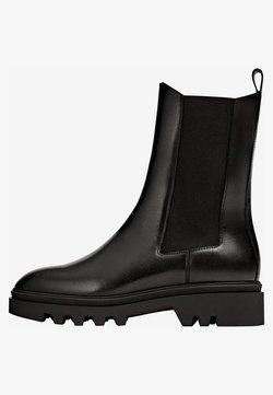 Massimo Dutti - PROFILSOHLE - Ankle Boot - black