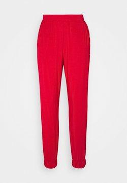 Calvin Klein Underwear - PERFECTLY FIT FLEX JOGGER - Pantaloni del pigiama - red gala