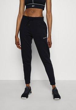 Reebok - PIPING PACK - Pantaloni sportivi - black