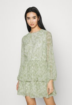 Gina Tricot - AMBER PLEATED DRESS - Kjole - green