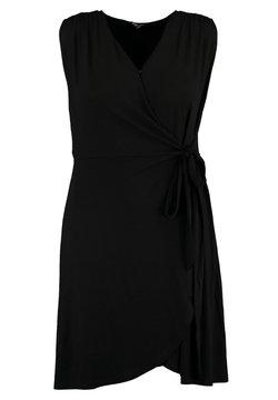 MS Mode - JURK JURK MET OVERSLAG - Robe de soirée - black