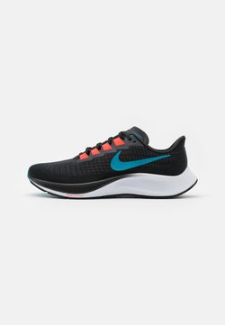 Nike Performance - AIR ZOOM PEGASUS 37 - Zapatillas de running neutras - off noir/light blue fury/bright crimson