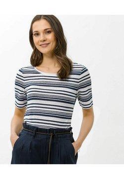 BRAX - STYLE COLLETTA - T-Shirt print - indigo
