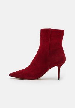 Pura Lopez - Korte laarzen - dark red