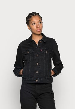Levi's® - ORIGINAL TRUCKER - Veste en jean - black