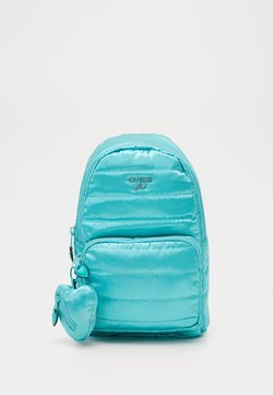 Guess - TILLY SMALL BACKPACK - Reppu - green