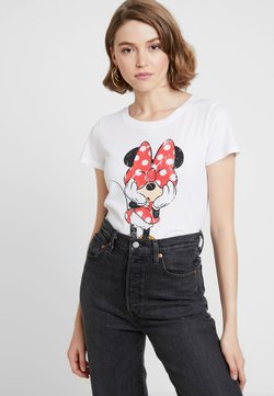 ONLY - ONLMICKEY VINTAGE - Printtipaita - white