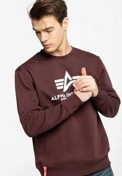 Alpha Industries - Sweater - red