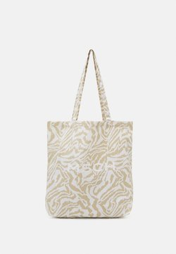 Moss Copenhagen - ORGANIC LOGO SHOPPER - Shoppingväska - white