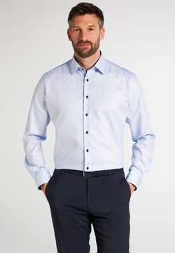 Eterna - FITTED WAIST - Businesshemd - hellblau