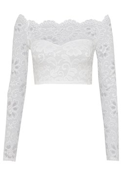 Nly by Nelly - OFF SHOULDER - Bluse - white