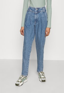 Topshop - SEAMED MOM - Jeans Relaxed Fit - mid blue