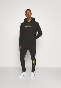 PARELLEX - LOUNGE HOOD LOUNGE TRACKSUIT SET - Sweatshirt - black