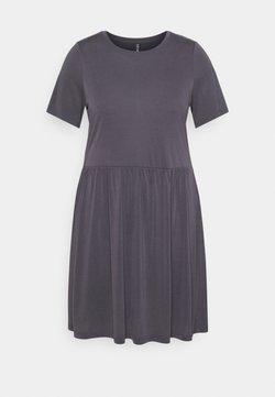 Pieces Curve - PCKAMALA DRESS - Vestido ligero - ombre blue