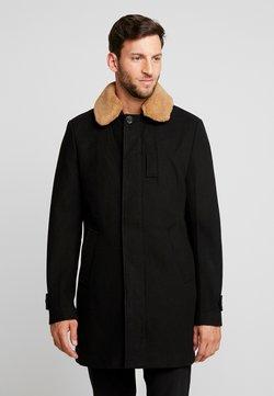 Schott - MAVERICK - Klasyczny płaszcz - black